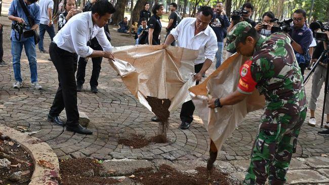 Olah TKP Ledakan di Monas Selesai, Masyarakat Diminta Tenang