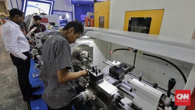 Pameran Manufacturing Indonesia 2019 menampilkan sejumlah inovasi teknologi di bidang manufaktur agar dapat bersaing ke industri 4.0.