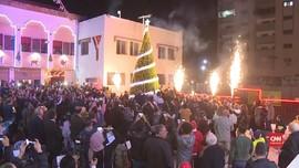 VIDEO: Warga Palestina Bersiap Rayakan Natal di Gaza