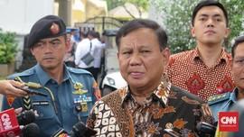 Prabowo kepada Wartawan: Sekarang Kita 'Friend' Ya?