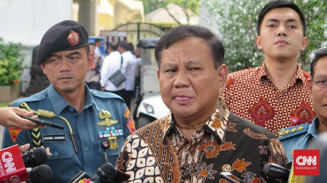 Menhan Prabowo Subianto tak ingin dana yang menjadi hak prajurit TNI terganggu kasus dugaan korupsi Asabri.