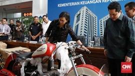 Pemerintah Belum Lelang Harley dan Brompton Eks Dirut Garuda