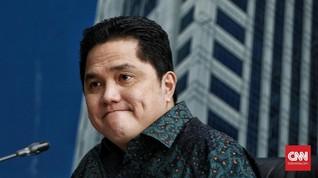 Erick Thohir Sambangi KPK Bicarakan PEN Corona