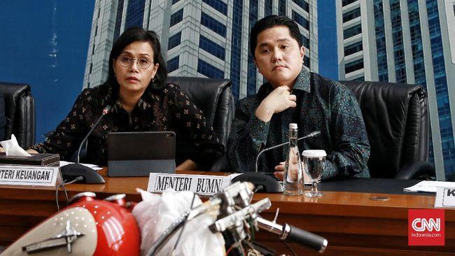 Menteri BUMN Erick Thohir menyatakan siap divaksin corona untuk mensukseskan program vaksinasi covid-19.