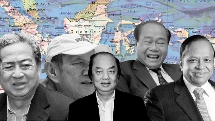 Infografis/ Yang kaya Makin kaya,  ini 10 crazy rich Indonesia/Aristya Rahadian Krisabella