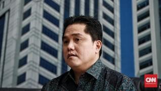 Erick Thohir Minta Bantuan KPK Awasi Dana Talangan BUMN