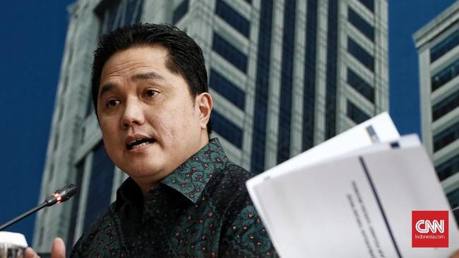 Daftar Direksi KFD yang Dipecat Erick Thohir