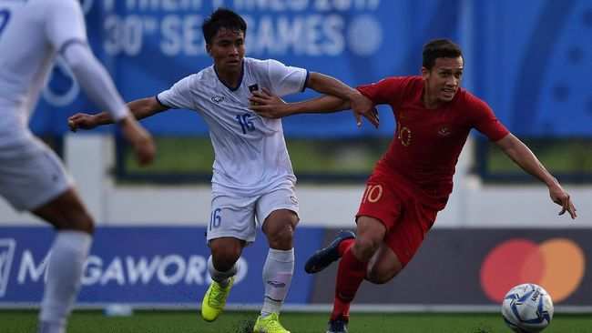 Timnas Indonesia U-23 dan Myanmar belum mampu mencetak gol pada babak pertama semifinal SEA Games 2019 di Stadion Rizal Memorial, Sabtu (7/12) sore.
