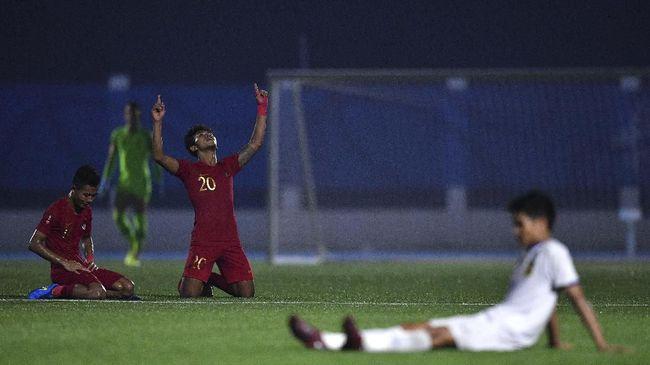 Timnas Indonesia mendapat bonus setelah memastikan lolos ke babak semifinal SEA Games 2019 usai mengalahkan Laos 4-0.