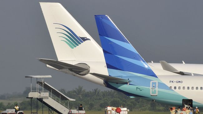 Akhir Tahun Garuda Diskon Tiket Pesawat Hingga 40 Persen