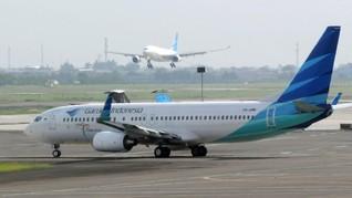 Garuda Selidiki Penyebab Pesawat Keluar Landasan di Makassar