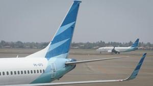 Bawa Penumpang Covid, Garuda Dilarang Terbang ke Hong Kong