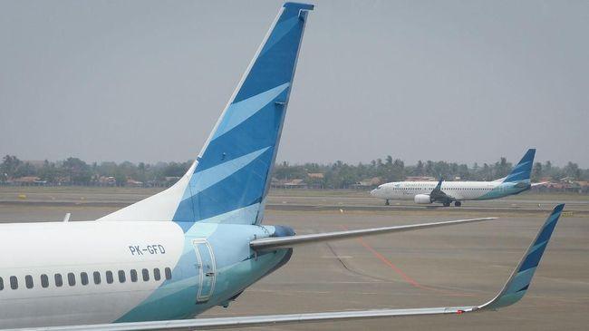 Garuda Indonesia memberikan layanan tes rapid antigen gratis kepada seluruh penumpang rute domestik di sepanjang Maret 2021.