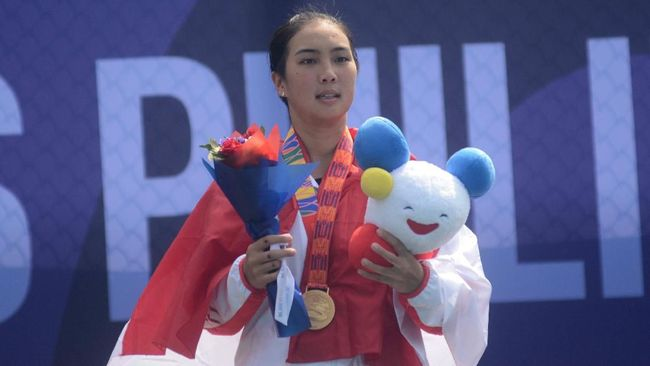 Petenis putri Indonesia Aldila Sutjiadi mengungkapkan target yang dibidiknya usai juara tenis W100 Bonita Springs di Florida.