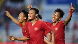 Indonesia vs Vietnam di SEA Games: Evan Dimas Cedera Parah
