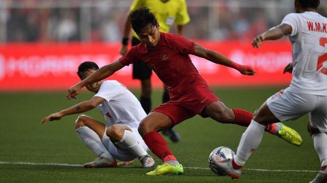 Timnas Indonesia menang 4-2 atas Myanmar di Stadion Rizal Memorial, Sabtu (7/12), dan melangkah ke final SEA Games 2019.