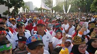 <div>Bersama sekitar 20 ribu orang yang bergoyang bersama dengan iringan lagu Sajojo. (Foto: Humas Oase)</div><div></div><div></div>