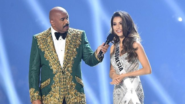 Indonesia, yang diwakili oleh Frederika Alexis Cull, berhasil masuk ke dalam jajaran 20 besar ajang Miss Universe 2019.