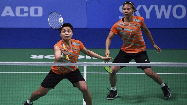 Greysia Polii/Apriyani Rahayu menang rubber gim atas Lee So Hee/Shin Seung Chan pada babak semifinal Yonex Thailand Open 2021.
