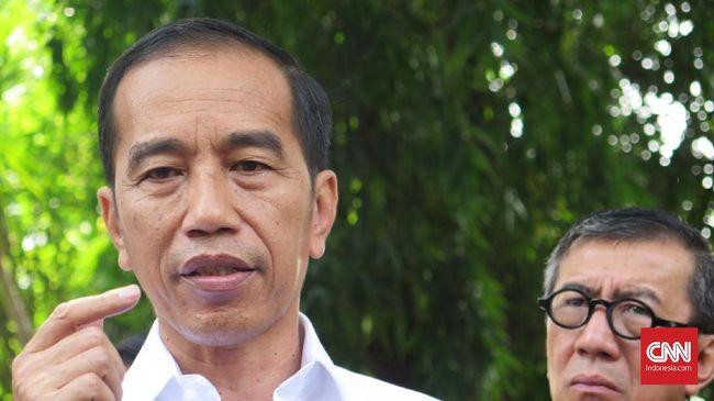Saat menjawab pertanyaan siswa SMK soal ketegasan sanksi kepada koruptor, Presiden Jokowi menyebut hukuman mati bisa diterapkan jika itu kehendak masyarakat.