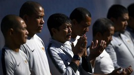 Enam Pelatih Lokal Bertemu dengan Tae Yong di Kantor PSSI