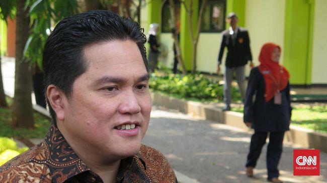 Menteri BUMN Erick Thohir memastikan pembentukan holding BUMN rumah sakit kelar Juni 2020.