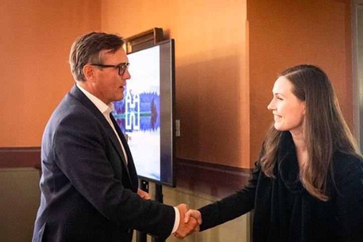 Sanna Marin dinobatkan sebagai Perdana Menteri Finlandia di usia 34 tahun. Hal ini sekaligus menegaskan jika Marin menjadi perdana menteri termuda di dunia. (Foto: Instagram @sannamarin)
