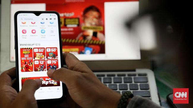 Bank Indonesia (BI) mencatat jumlah transaksi belanja online melonjak menjadi 140 juta transaksi hingga Agustus 2020.