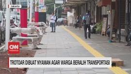 VIDEO: Revitalisasi Trotoar Ibu Kota