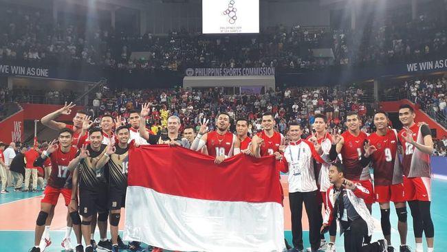 Kontingen Indonesia tertahan di posisi keempat klasemen SEA Games 2019 setelah hanya mampu mendulang dua emas pada Selasa (10/12).