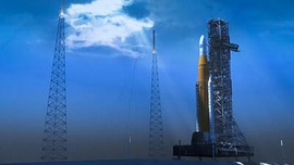 Roket NASA untuk Misi Manusia ke Bulan Selesai Dikerjakan