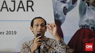 Nadiem: Asesmen untuk Evaluasi, Bukan Seleksi Masuk Sekolah