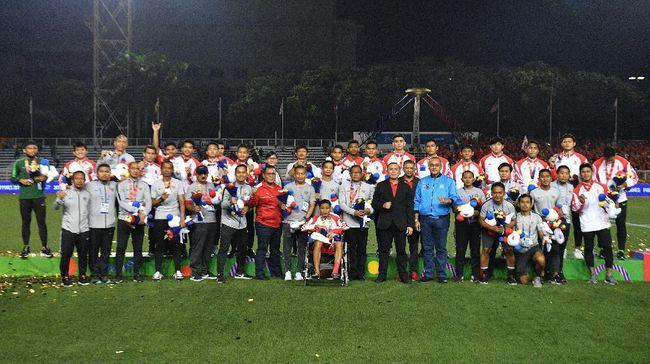 PSSI berjanji untuk memberikan sejumlah bonus kepada Timnas Indonesia U-23 yang meraih medali perak di SEA Games 2019.