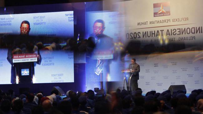 SBY berharap belanja APBN yang dilakukan pemerintahan Jokowi bisa mendorong pertumbuhan ekonomi.