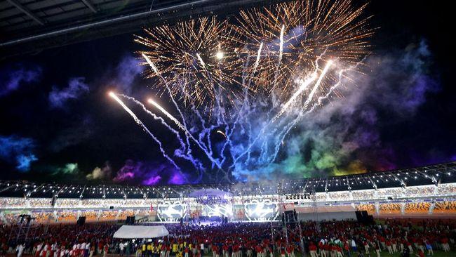 SEA Games 2019 di Filipina resmi ditutup dalam upacara penutupan di Stadion New Clark City, Capas, Tarlac, Rabu (11/12) malam waktu setempat.