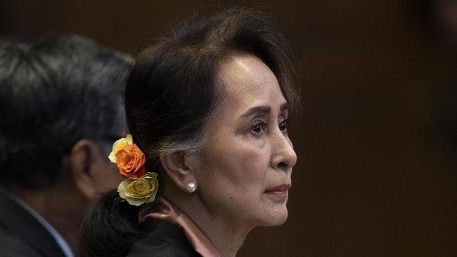 KPU yang ditunjuk junta militer Myanmar menganulir kemenangan Partai Liga Nasional untuk Demokrasi dalam pemilu 2020.