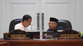 Jokowi Singgung Impor Baja Sumber Defisit Neraca Dagang