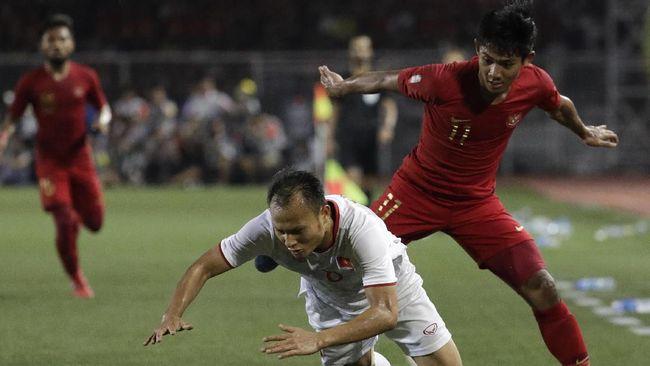 Evan Dimas bukan satu-satunya pemain Timnas Indonesia yang menjadi korban permainan keras Vietnam pada final SEA Games 2019.