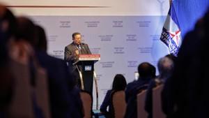 SBY Kirim Pesan ke Kader, Tetap Berjuang Menolak UU Ciptaker