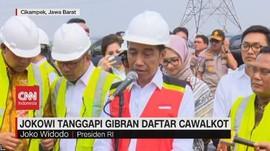 VIDEO: Jokowi Tanggapi Gibran Daftar Cawalkot