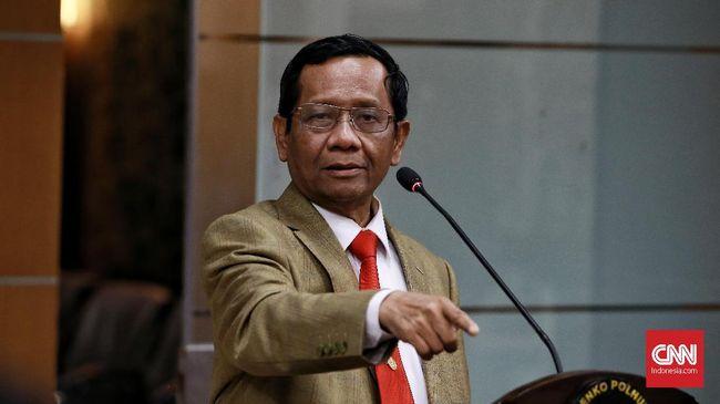Dalam acara Mata Najwa, Menko Polhukam Mahfud MD menyebut nama yang ia dapatkan laporannya dari warganet sebagai penuduh SBY di balik demo omnibus law.