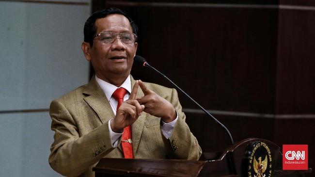 Indeks Korupsi Turun, Mahfud Sentil Korting Hukuman Koruptor