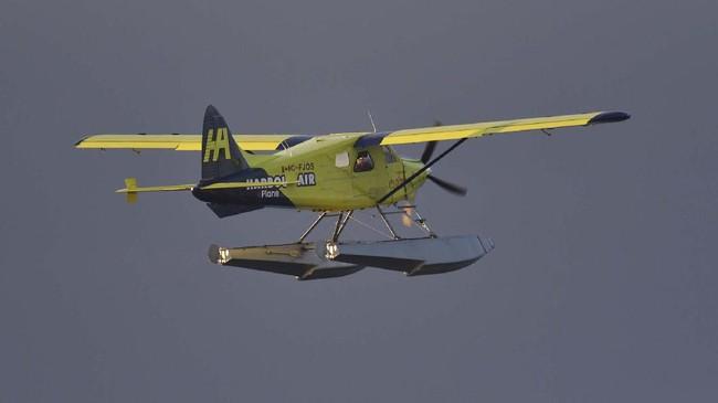 Pesawat bertenaga listrik diklaim pertama di dunia melakukan uji terbang perdana pada Selasa (10/12). Uji coba terbang dilakukan di Kota Vancouver, Kanada.