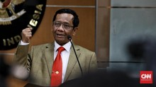 Mahfud MD Komentar Usai KPK Tangkap Edhy: Saya Back Up Firli