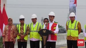 Jokowi Sebut Bakauheni-Palembang Kini Bisa Ditempuh 3,5 Jam