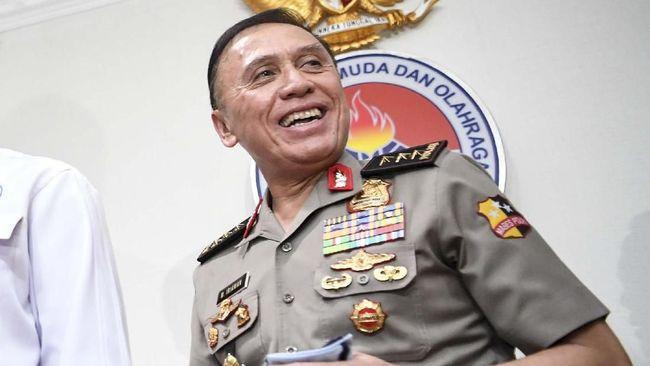 Ketua Umum PSSI Mochamad Iriawan mendatangi kediaman penguasa properti Jerry Hermawan Lo guna melihat pelaksanaan tes virus corona.