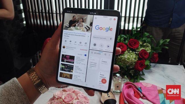 Ponsel lipat anyar Samsung, Galaxy Z Flip, diperkirakan bakal dijual lebih murah dari Galaxy Fold.