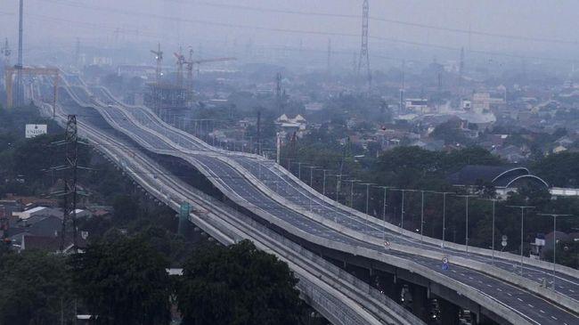 Tol baru, Jakarta-Cikampek (Japek) II Elevated, punya konstruksi bergelombang dan meliuk yang mesti diperhatikan pengemudi.