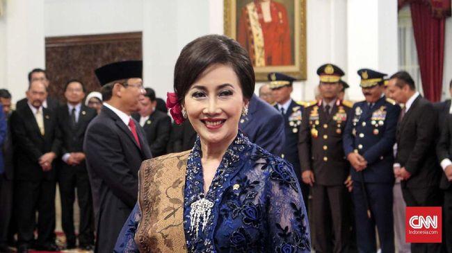 Putri Kuswisnu Wardani, bos Mustika Ratu sekaligus anak pendirinya Mooryati Soedibyo menjadi satu dari 9 anggota Wantimpres.