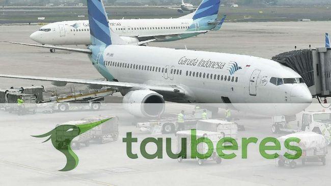 Menteri BUMN Erick Thohir akan melikuidasi lima anak usaha Garuda, termasuk Garuda Tauberes.